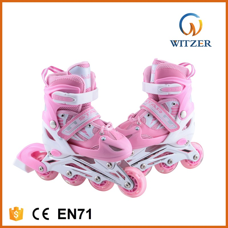 2017 new design freestyle child wholesale roller skates outdoor