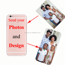 Custom Design DIY Transparente Silicone Case Cover Customized Printing Cell Phone Case For iPhone 6 6s 5 5s SE 7 8 plus X 6plus