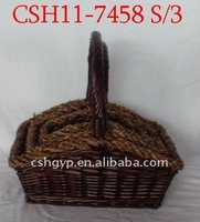 gift food willow basket