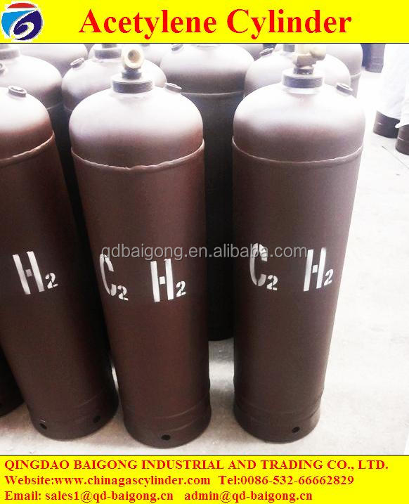 Made In China High Quality GB11638 Standard Dissolved Acetylene Gas Cylinder Price