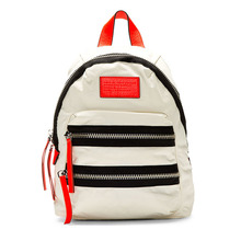Natural Beige Color Nylon Material Fashion Women School <strong>Backpack</strong>