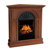 Classic Electric fireplace with mantel