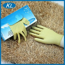 Rubber cleaning natural latex photo gloves production line China