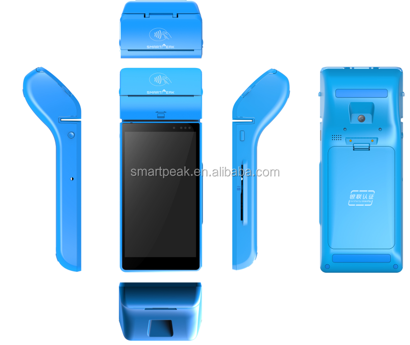 cost down All in one POS/Enterprise PDA with printer/barcode scanner/NFC RFID/QuickMark QR Code Reader