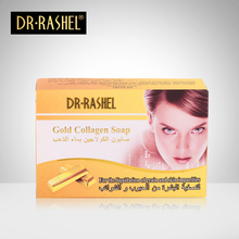 DR.RASHEL Natural Revitalizing Repairing Facial Cleaning Face Wash Gold Collagen Soap