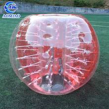 Factory price inflatable body zorb ball buddy bumper ball for adult