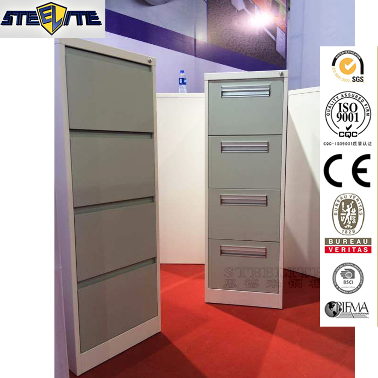 Luoyang office furniture grey steel price in saudi arabia fire resistant filing cabinet with 4 drawer