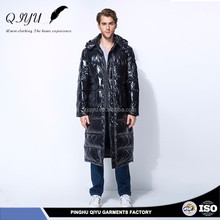 Water resistance sell well new men jackets winter goose down long coat