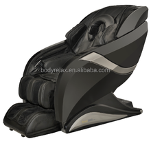 2015 L shape zero gravity massage chair with foot roller and bluetooth connection, rocking function, build in arm massager