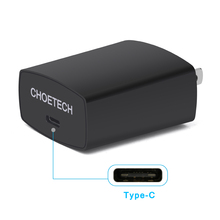 USB C Charger 18W Type-C Wall Charger 5V 3A fast usb charger adapter with EU/US/UK plug