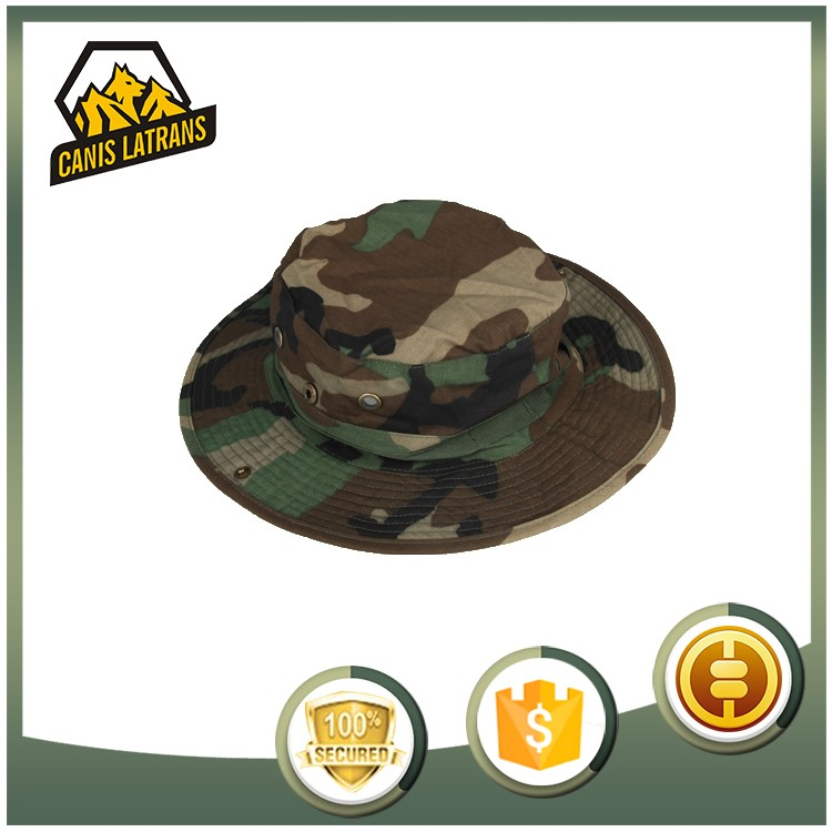 Military Men Hunting Caps Wide Brim Custom Bucket Boonie Hats