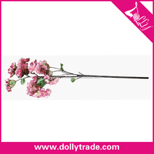 Hot Sale Decorative Artificial Flower Long Stem, Fake Flower