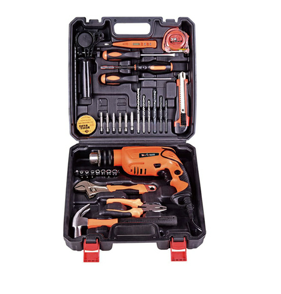 High quality power tools set 13mm impact <strong>drill</strong> with handtools
