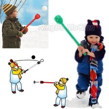 snow flurry A Snowball maker, catapult and party horn kids snoball maker and thrower launcher make fight winter snow toys