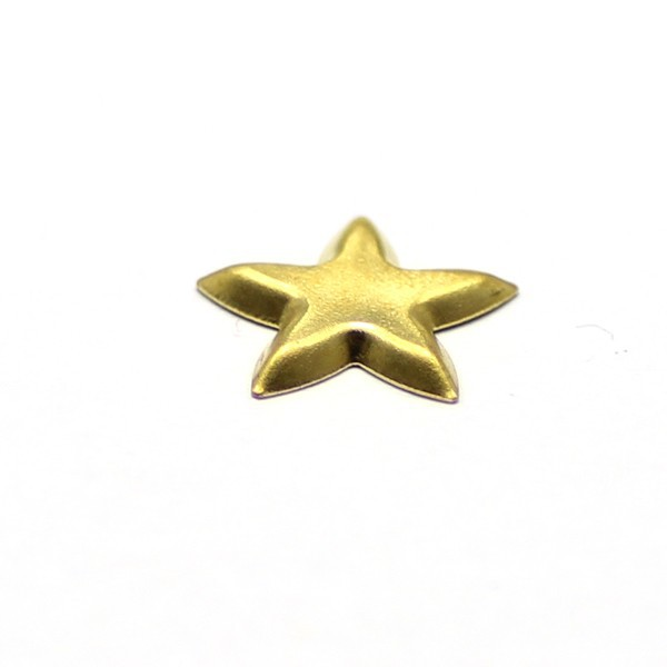 star 12.5mm cell phone charm stone base jewelry findings