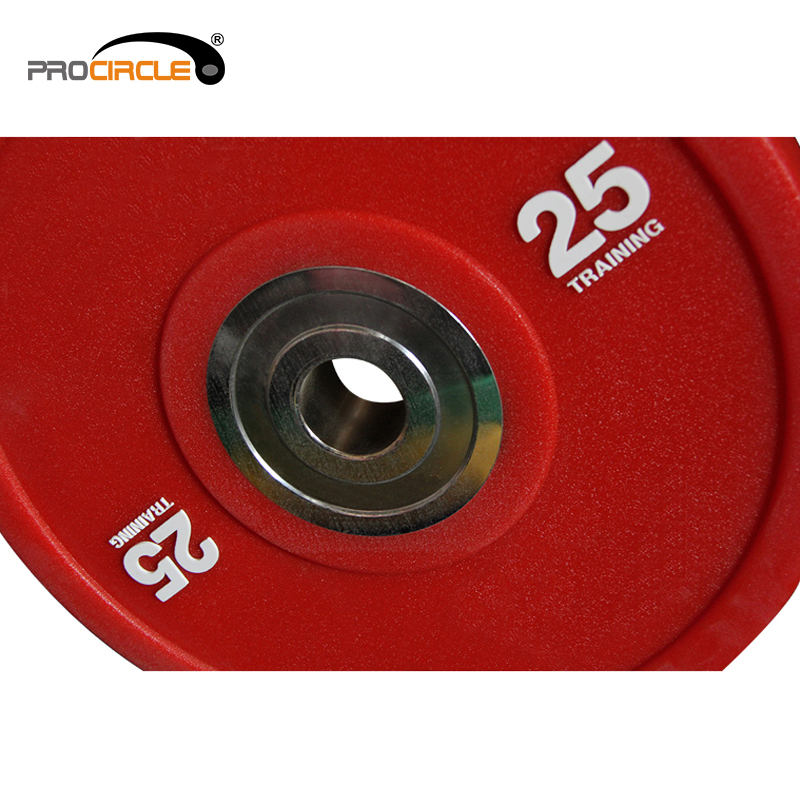 Gym Crossfit Professional PU Barbell Bumper Weight Plate