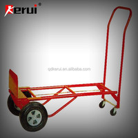 moving cart with 4 wheel hand truck