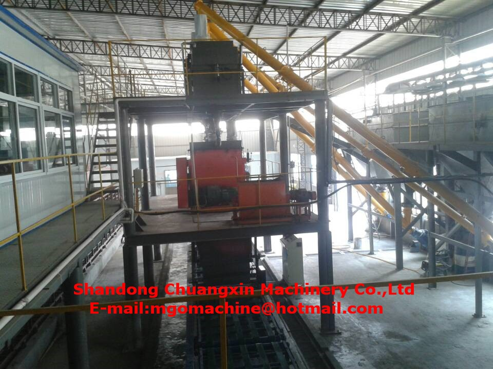 Automatic Magnesium Oxide Board Machine