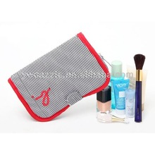 2015 promotional personalized large cosmetic bag with compartments
