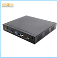 12V Portable Intel J2900 Quad-core 2.4--2.6GHz X86 4G DDR3 HDD HDMI VGA LAN port RJ45 Industrial Mini PC with VESA Mount