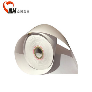 100%Raw wood pulp quality Thermal paper thermal paper jumbo roll cash register paper roll