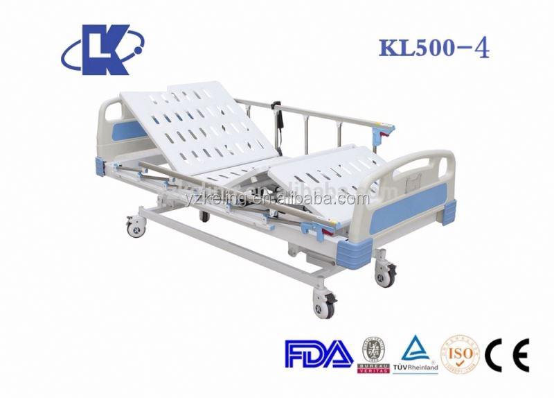adjustable hospital bed ICU bed electric home care bed with 3 functions luxury
