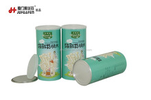 Paper Tube Hypsizygus Marmoreus Packaging Cans Aluminum Water Proof Canister