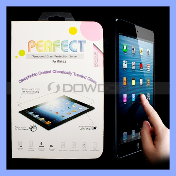 Tempered Glass Explosion Proof Screen Protector For iPad Mini