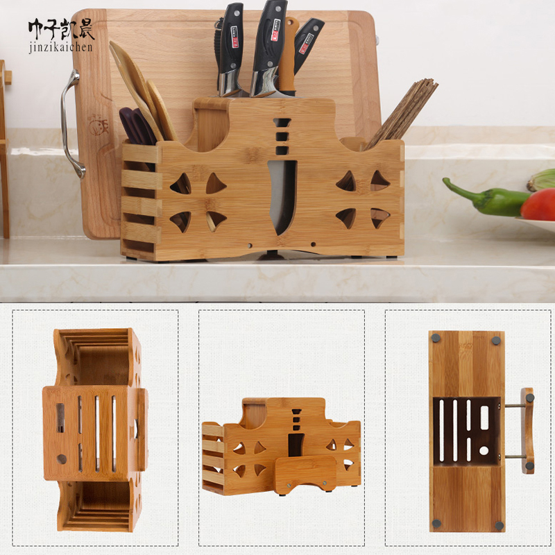 Hot Sale Factory China Three Kinds Bamboo Chopsticks Magnetic Knife Holder