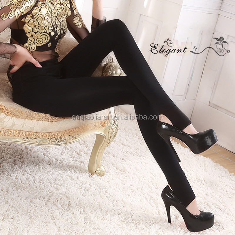 Firstlady 2016 new fashion winter women 600D thick high waist pantyhose high-elastic ladies Stirrup tights sexy silk stockings