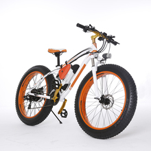 SY-261 26 inch 48V 350w 500w 1000w Electric Mountain Dirt Fat Tire Bike Bicycle