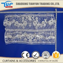 fashion cotton churidar crochet neck lace piece