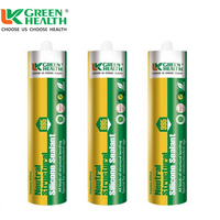 factory supply no smell cracked glass silicone sealant