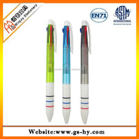 Promotional 3 in 1 multicolor ball point pen