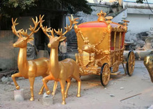golden deer and golden carriage