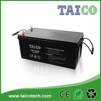 Big Capacity High Efficiency Good Quality Deep Cycle Battery 12V 200AH