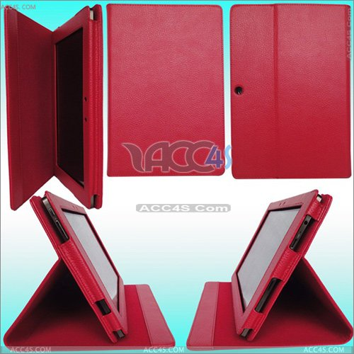 Lichi Skin Leather Case Stand for ASUS Eee Pad TF101 ASUSEPADCASE002