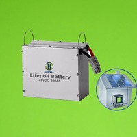 Solar battery bank / 12V 100Ah 120Ah 150Ah 200Ah 250Ah 400Ah LiFePO4 battery pack for solar power systems