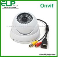 1.0 megapxiel onvif cctv security outdoor waterproof dome 720p p2p cell phone controlled remote camera