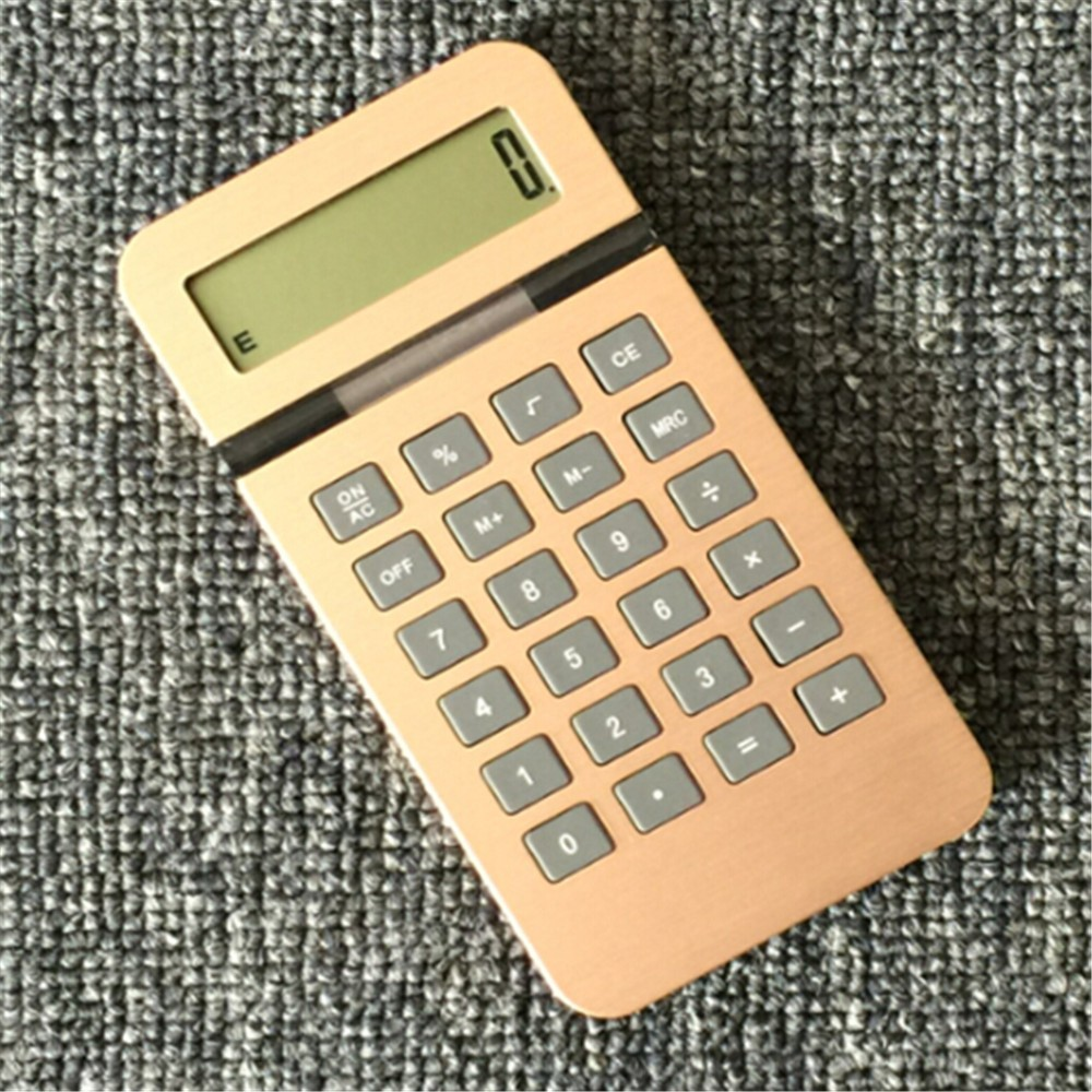 PN-2061 Office Gift Aluminum Desktop Calculator