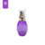 New design fancy purple perfume spray atomizers PET bottles