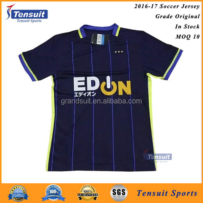 Make your own design new club football jersey new 2016/2017 hot sale soccer team jersey with low price