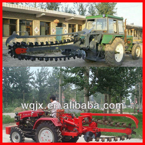 2013 Wanqi Ditcher/ditching machine/ trench digger, diesel engine trench digger, farm used trench digger factory price for sale