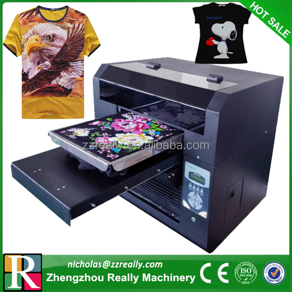 Automatic digital a3 size t shirt printing machine for Cheapest t shirt printing machine