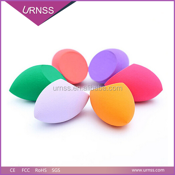 2016 high quality cosmetic accessories latex free makeup blender sponges