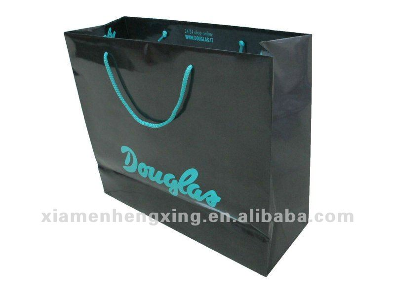 gloss laminated paper bag