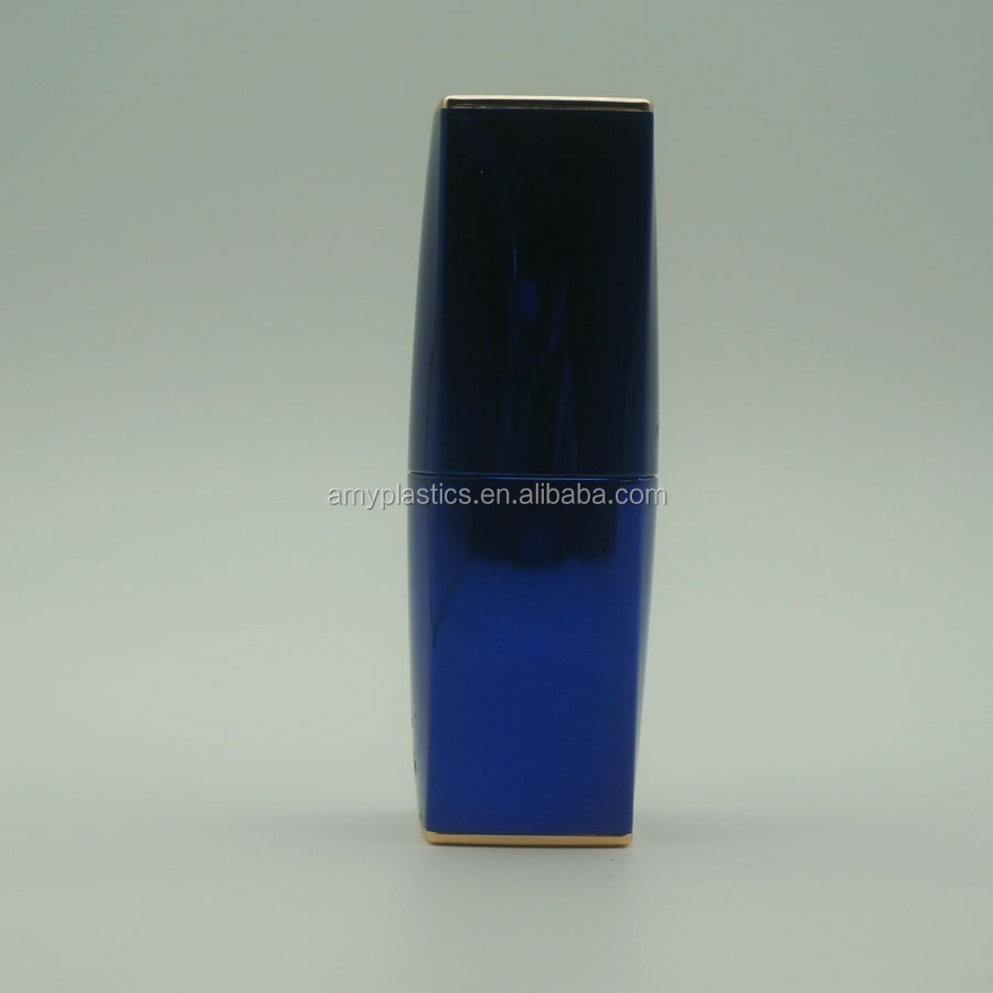 luxury square lipstick bottle for cosmetic package