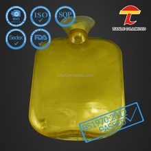 BS quality for France market transparent PVC hot water bottle