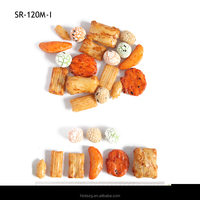 MIX BRC snacks glutinous rice cracker&coated peanuts Healthy food