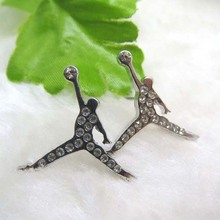 wholesale costume jewelry Kobe Basketball Playing Shape Earrings Design